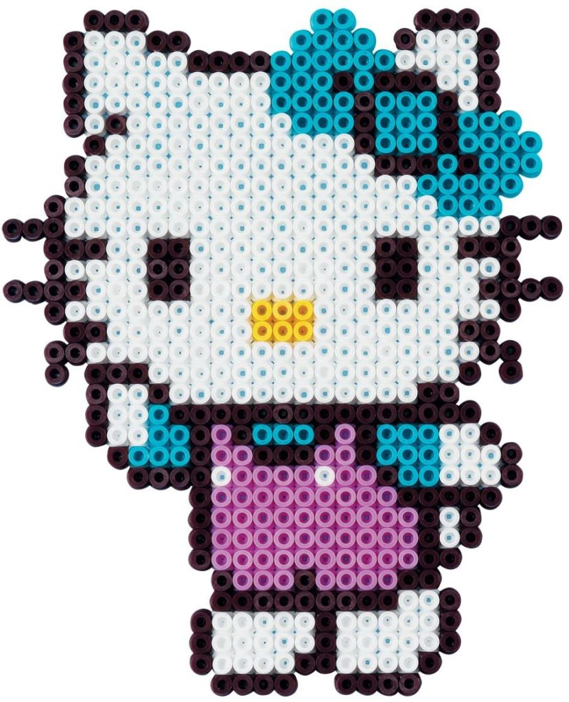 Hello Kitty aus Bügelperlen