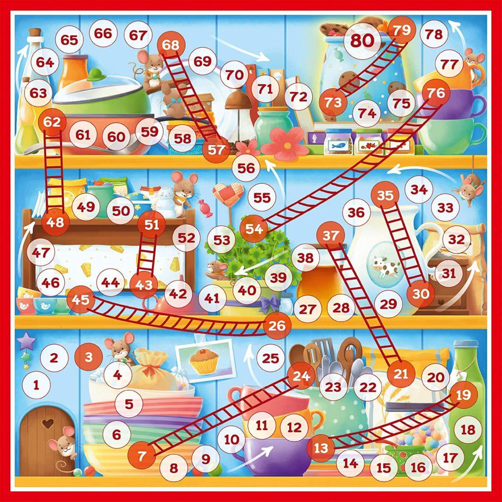 Leiterspiel für Kinder