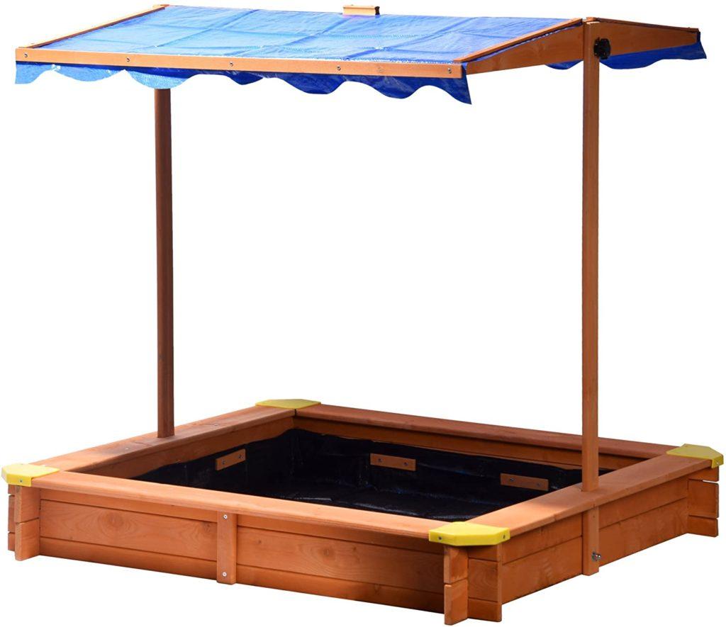 dobar Sandkasten aus FSC-Holz