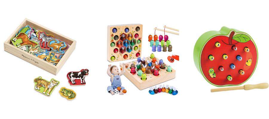 Magnetspielzeug Holz